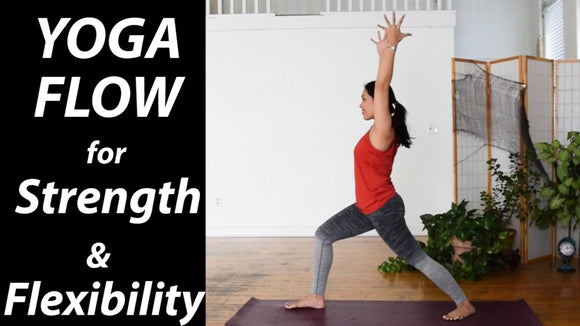 35-Minute Intermediate Yoga Flow for Strength & Flexibility