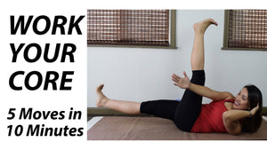 Yoga for Core Strength: 5 Exercises (Under 10 Minutes!)