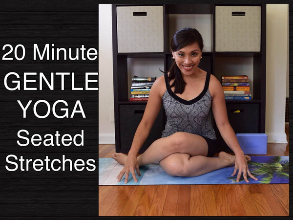 20 Minute Gentle Yoga Class - Seated Poses
