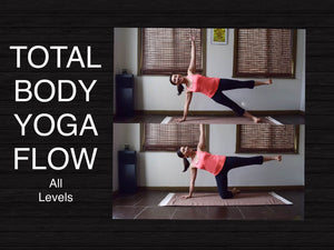 Total Body Vinyasa Flow Yoga All Levels - 50 Minutes