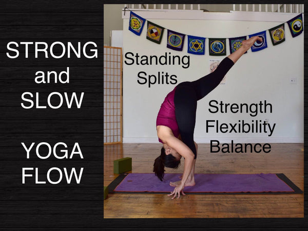 Vinyasa Flow Yoga Full Class - Strength Flexibility Balance