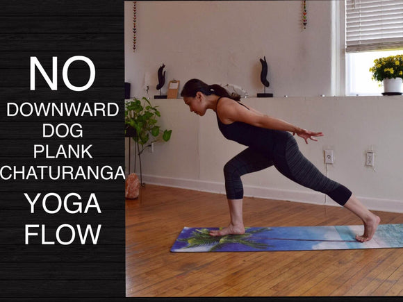 Beginner and Intermediate Wrist Free Hands Free Yoga Flow - 30 Minutes