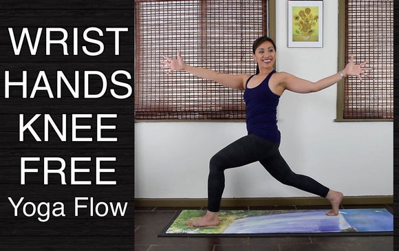 NO Wrists Hands Knees YOGA FLOW for All Levels - 40 Minutes