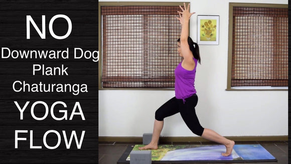 Wrist Free Hands Free Yoga Flow Class for All Levels - 50 Minutes