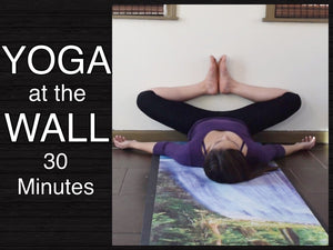 Gentle Yoga at the Wall - Stretches for Lower Back, Hamstrings, Hips & Inner Thighs (30 Minutes)
