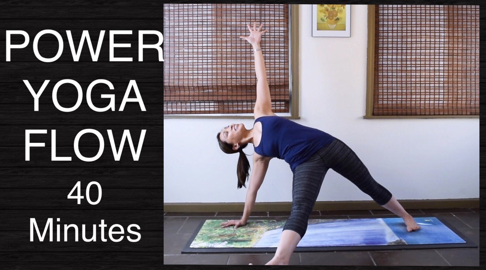 Power Vinyasa Flow Yoga Class  - 40 Minutes (Intermediate)