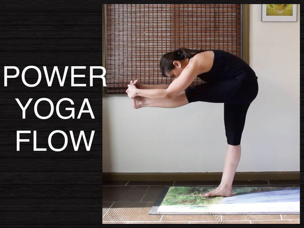 Strong Power Vinyasa Flow Yoga - 30 minutes (Intermediate and Advanced)