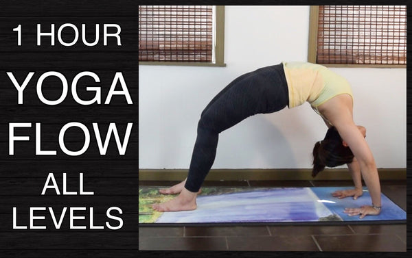 Vinyasa Flow Yoga for All Levels - Wheel Pose (1 Hour)