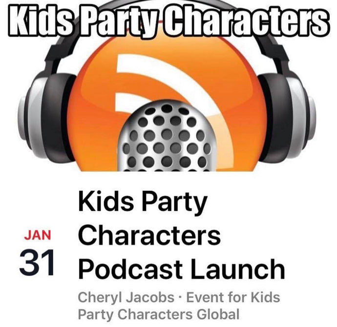 Kids Party Characters Podcast