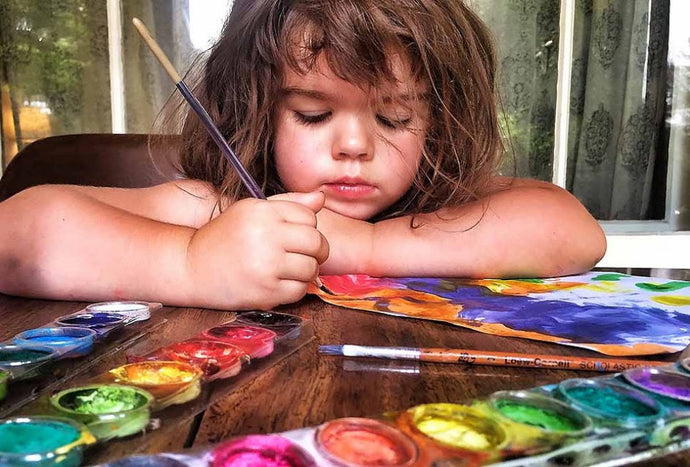 Crafts for Kids: 100 Awesome Art Projects for Creative At-Home Fun