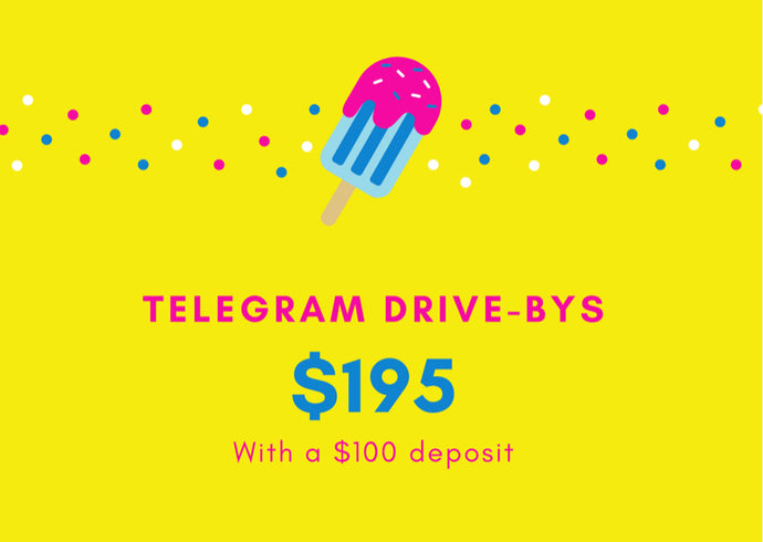 Telegram Drive-bys