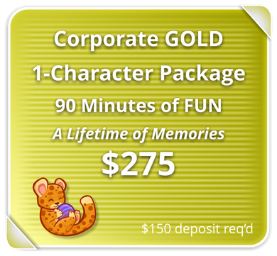 Corporate GOLD Package for 1 Character