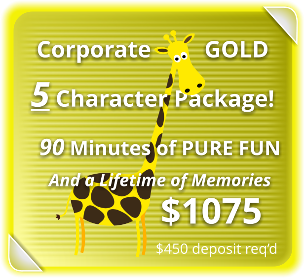 Corporate GOLD Package for 5-Characters