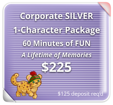 Corporate SILVER Package for 1 Character