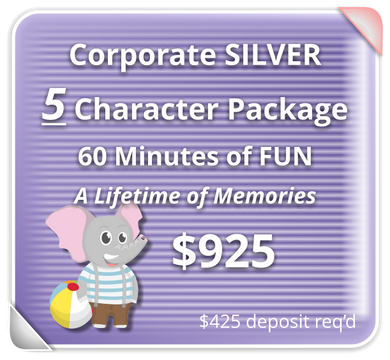 Corporate SILVER Package for 5-Characters