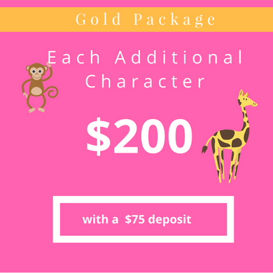Additional Character Gold Package
