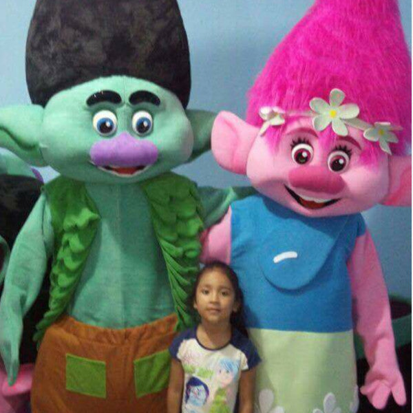 Green and Pink Trolls