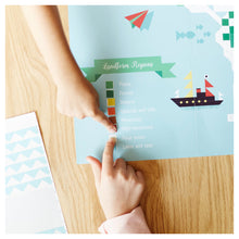 Load image into Gallery viewer, Poppik Creative Sticker Poster World Map