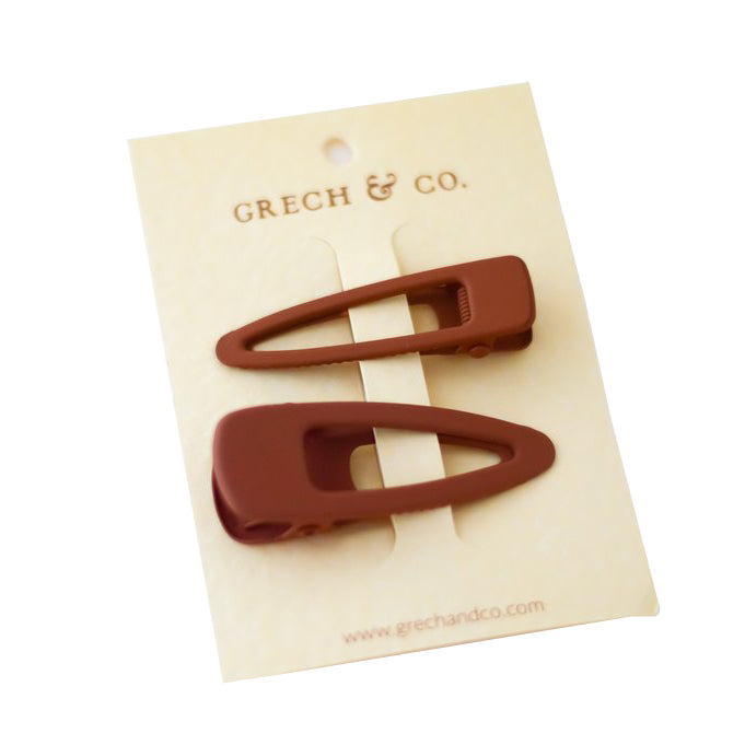Grech & Co. Matte Clips Set of 2