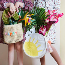 Load image into Gallery viewer, Meri Meri Happy Woven Straw Bag