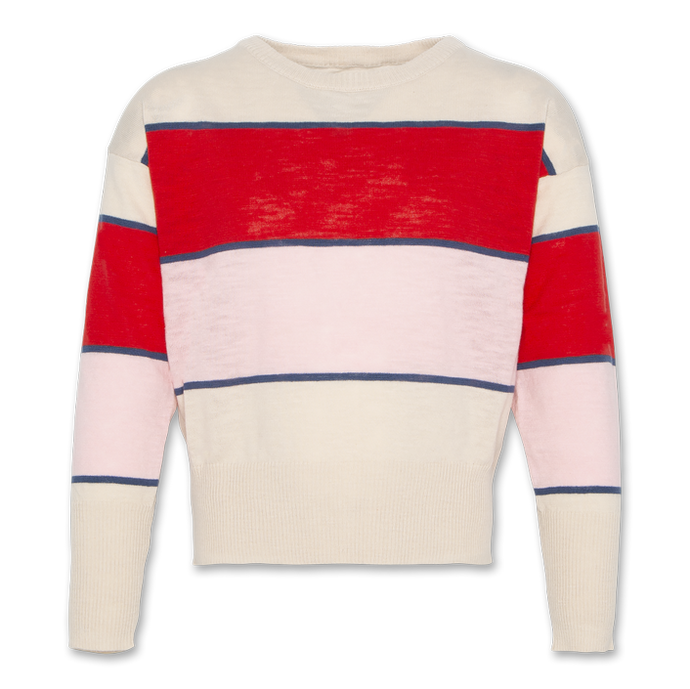 AO76 Striped Boatneck