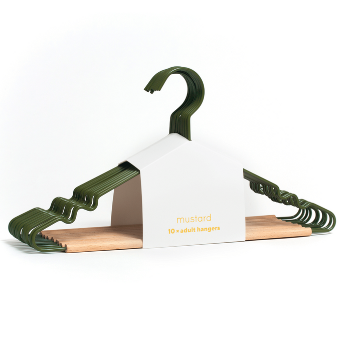 Mustard Made Adult Top Hanger in Olive