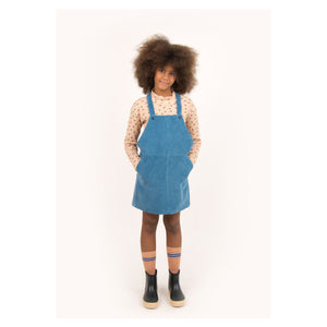 Tiny Cottons Solid Braces Dress