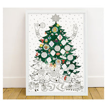 Load image into Gallery viewer, Omy Christmas Giant Colouring Poster
