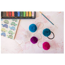 Load image into Gallery viewer, PomPom Galore Tube of x4 Hair Bobbles