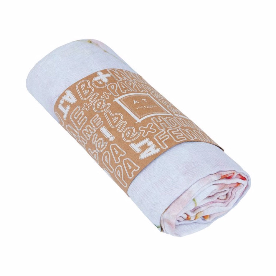 A.T London White Cherry Blossoms Ninja Scarf
