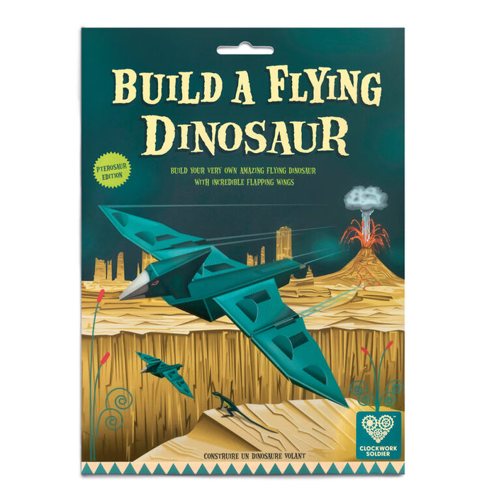 Clockwork Soldier Build a Flying Dinosaur