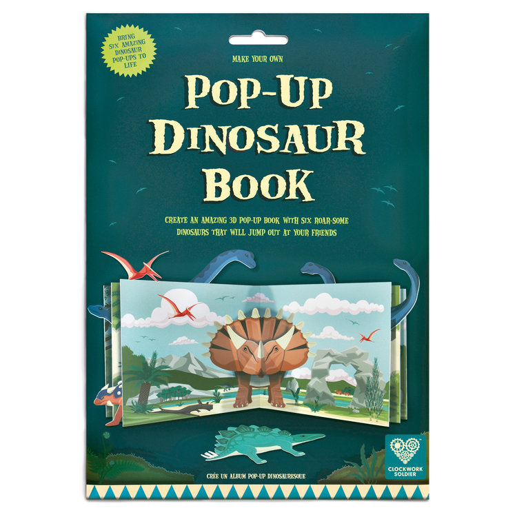 Clockwork Soldier Make Your Own Pop-Up Dinosaur Book