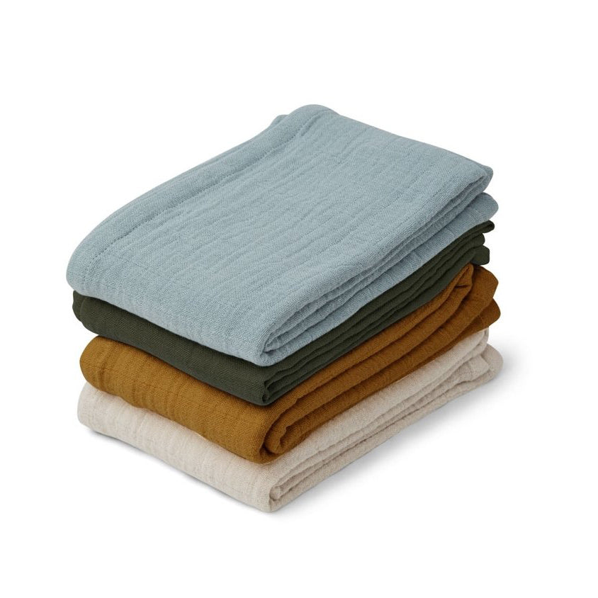 Liewood Leon Muslin Cloth 4 Pack