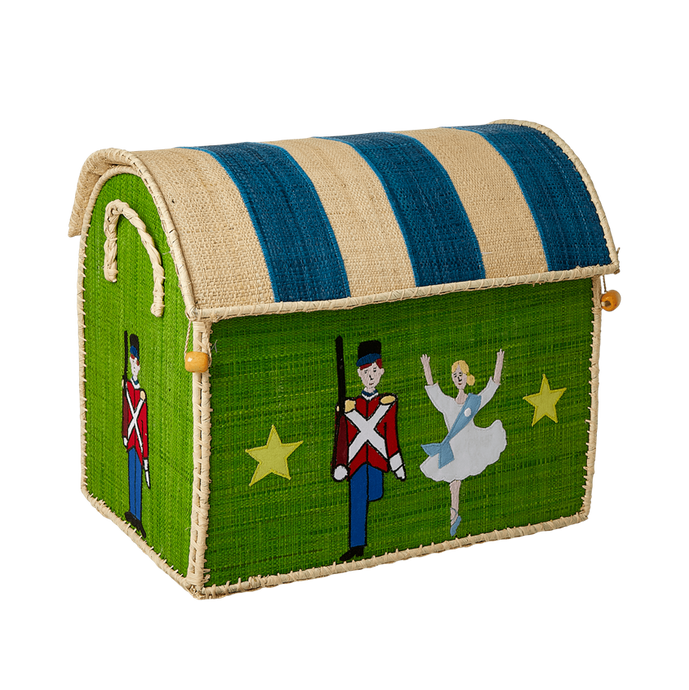 RICE Toy Basket Tiny Soldier Theme