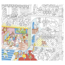 Load image into Gallery viewer, Omy Dance Giant Colouring Poster