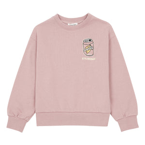 Hundred Pieces Embroidered Sweatshirt