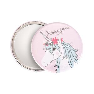 Rosajou Unicorn Pocket Mirror