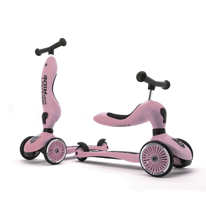 Scoot and Ride 2 in 1 Balance Bike / Scooter - Highwaykick 1