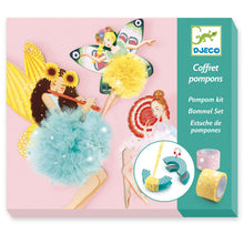 Load image into Gallery viewer, Djeco Pom Pom Making Kit
