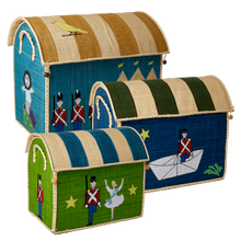 Load image into Gallery viewer, RICE Toy Basket Tiny Soldier Theme
