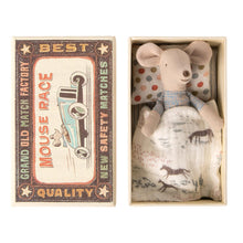 Load image into Gallery viewer, Maileg Little Brother Mouse in Matchbox