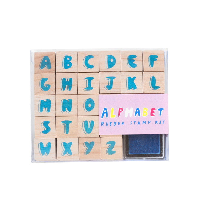 Yellow Owl Alphabet Stamp Kit