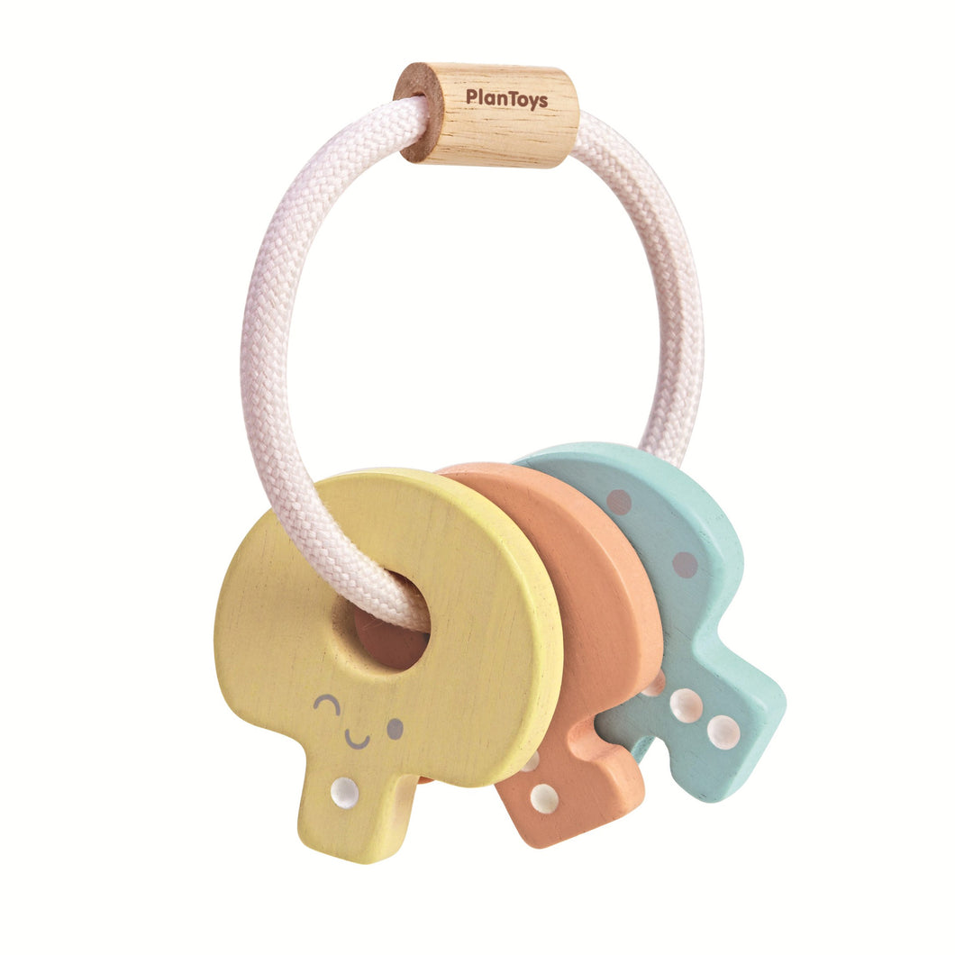 Plan Toys Pastel Key Rattle