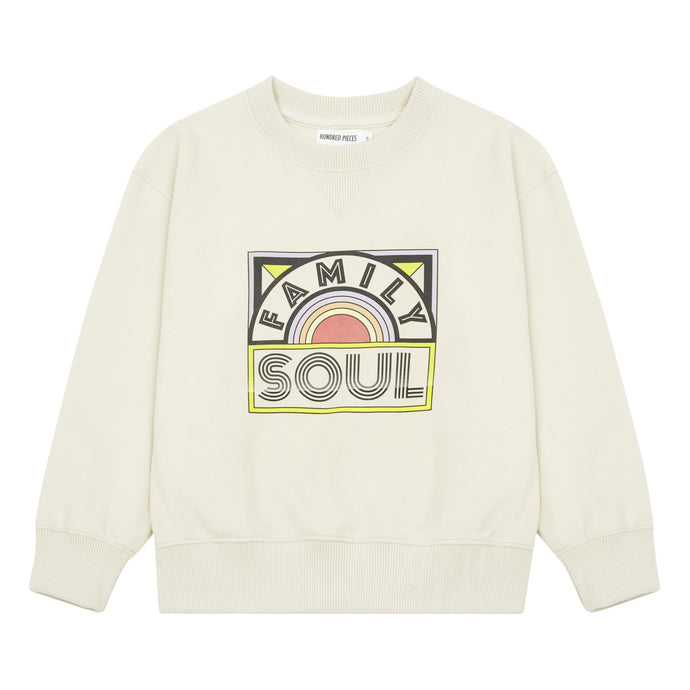 Hundred Pieces Family Soul Organic Cotton Sweatshirt