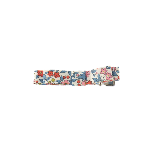 Bon Dep Liberty Chamomille Red Print Hair Clip