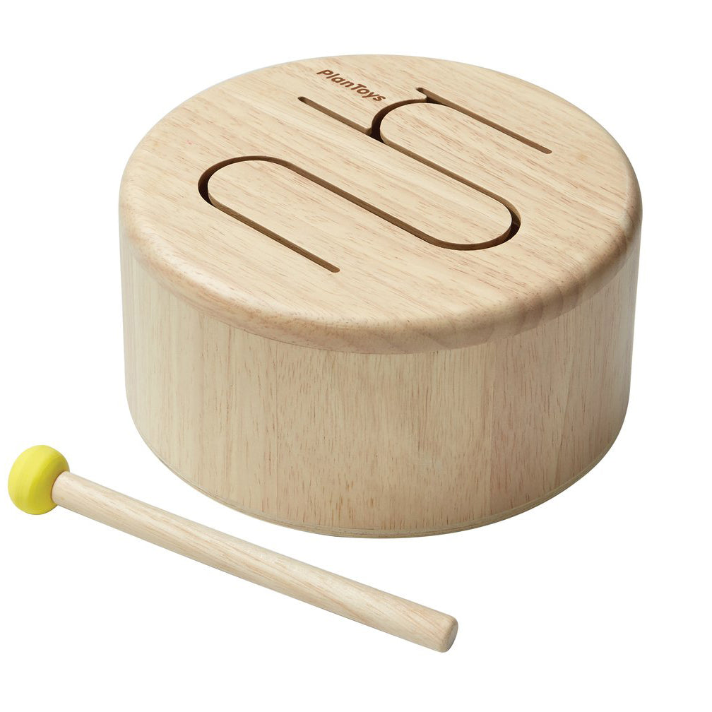 Plan Toys Natural Solid Drum