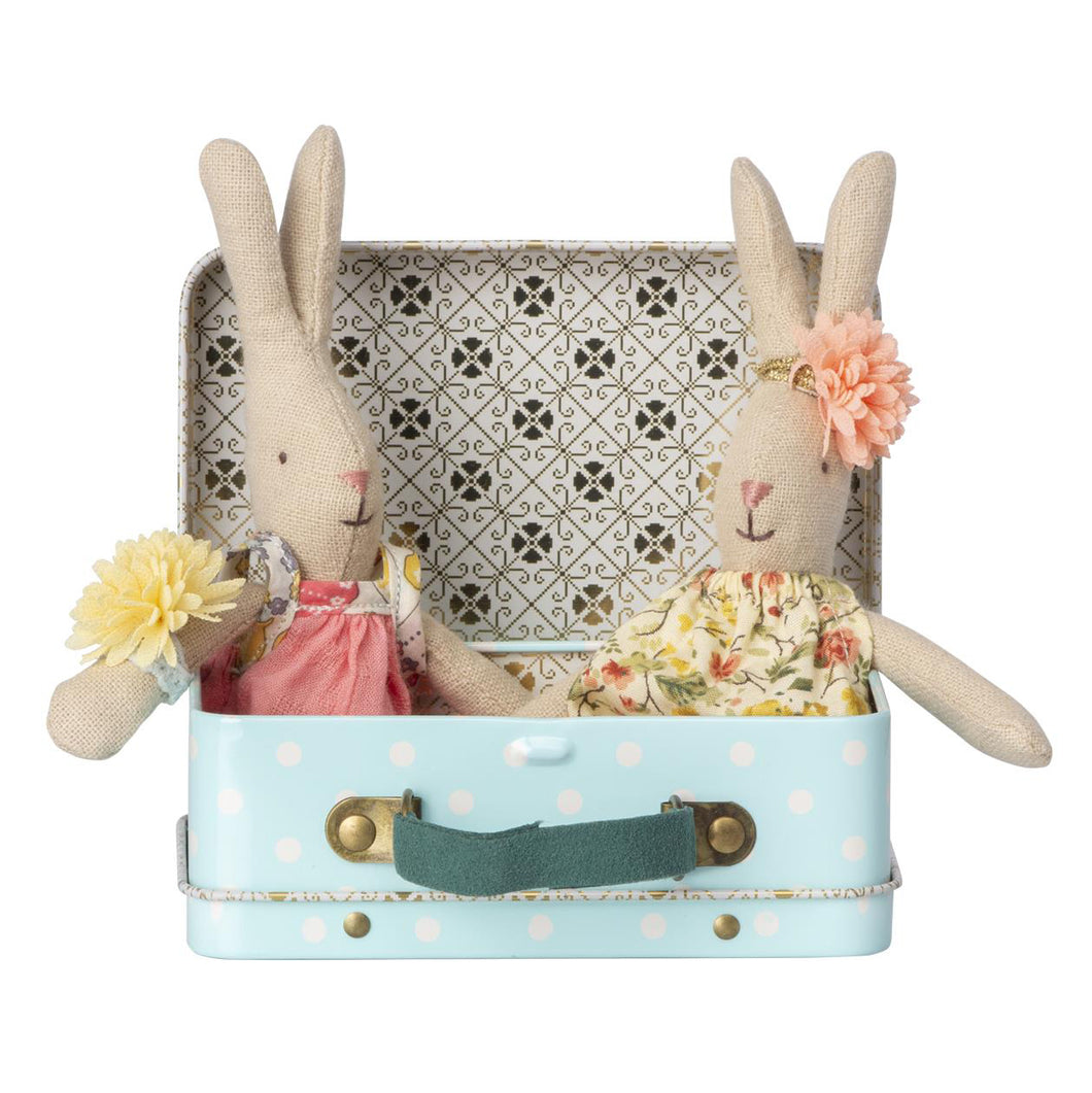 Maileg Micro Rabbit With 2 Sets of Clothes