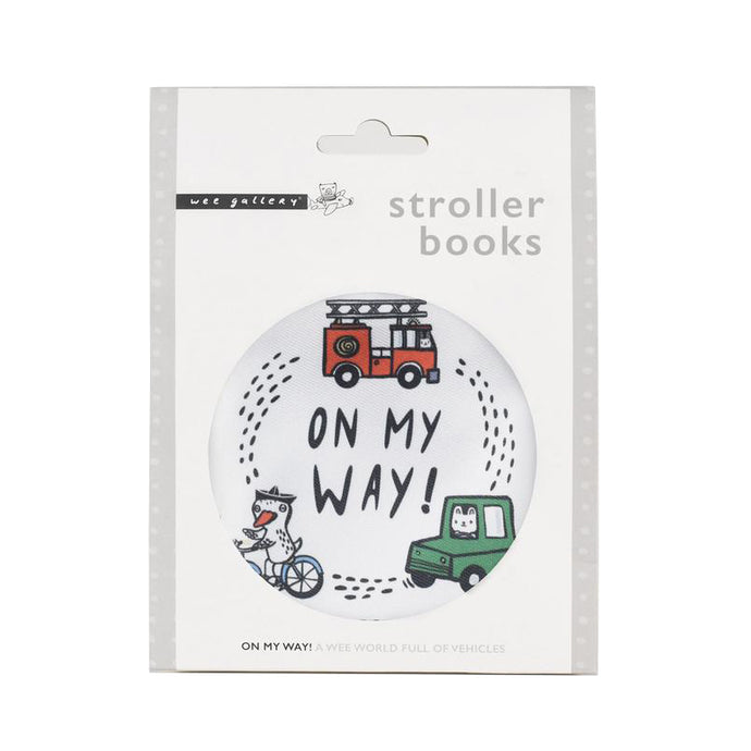 Wee Gallery Stroller Book - On My Way