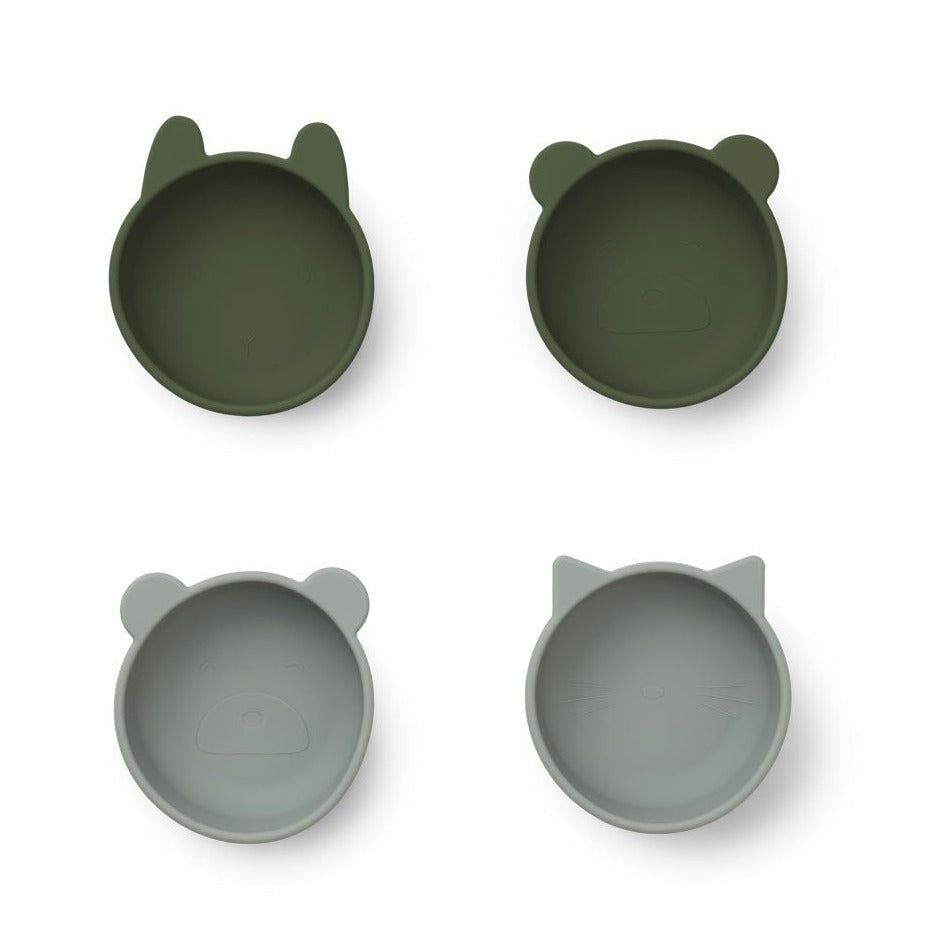 Liewood Iggy Silicone Bowls 4 Pack