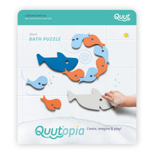 Load image into Gallery viewer, Quutopia Whale Bath Puzzle